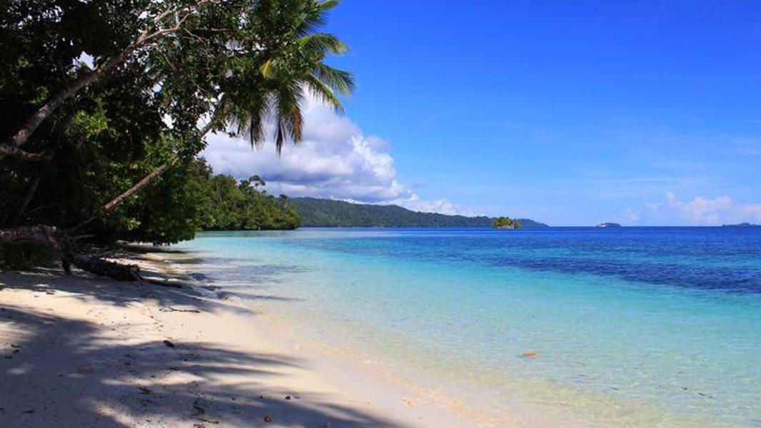 Where is Raja Ampat Biodiversity Eco Resort - our Beach