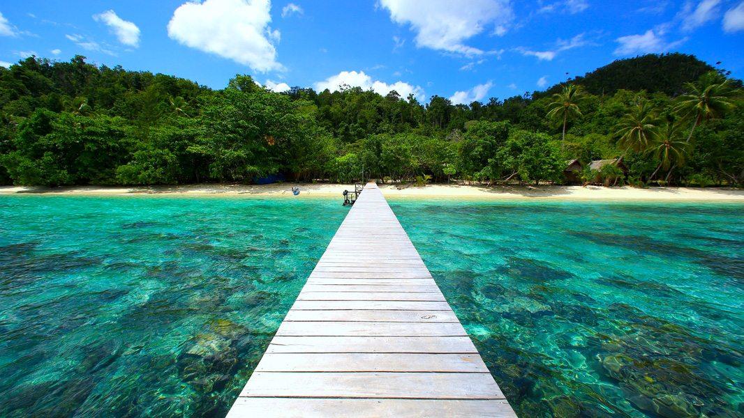 Where is Raja Ampat Biodiversity Eco Resort - landing stage