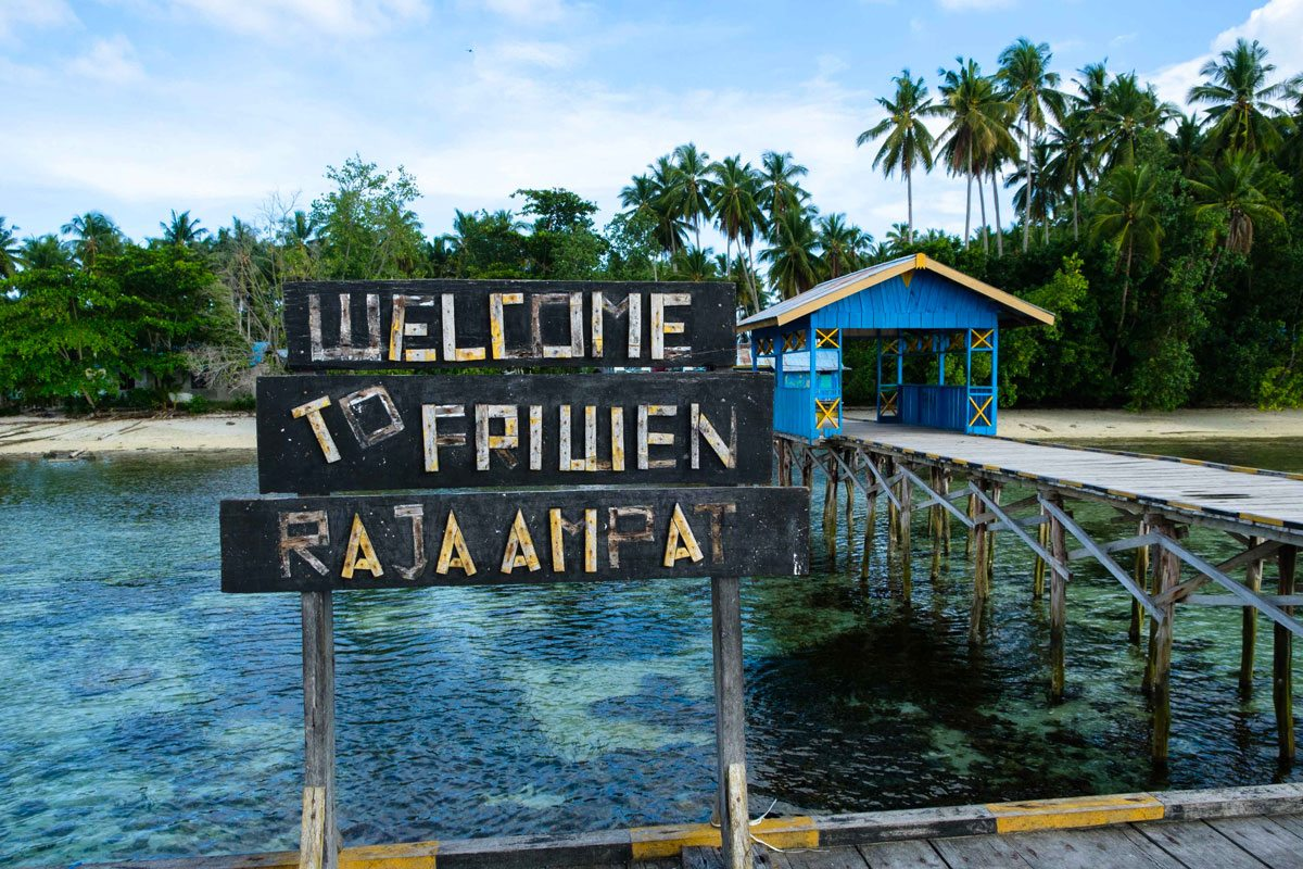 raja ampat activities village