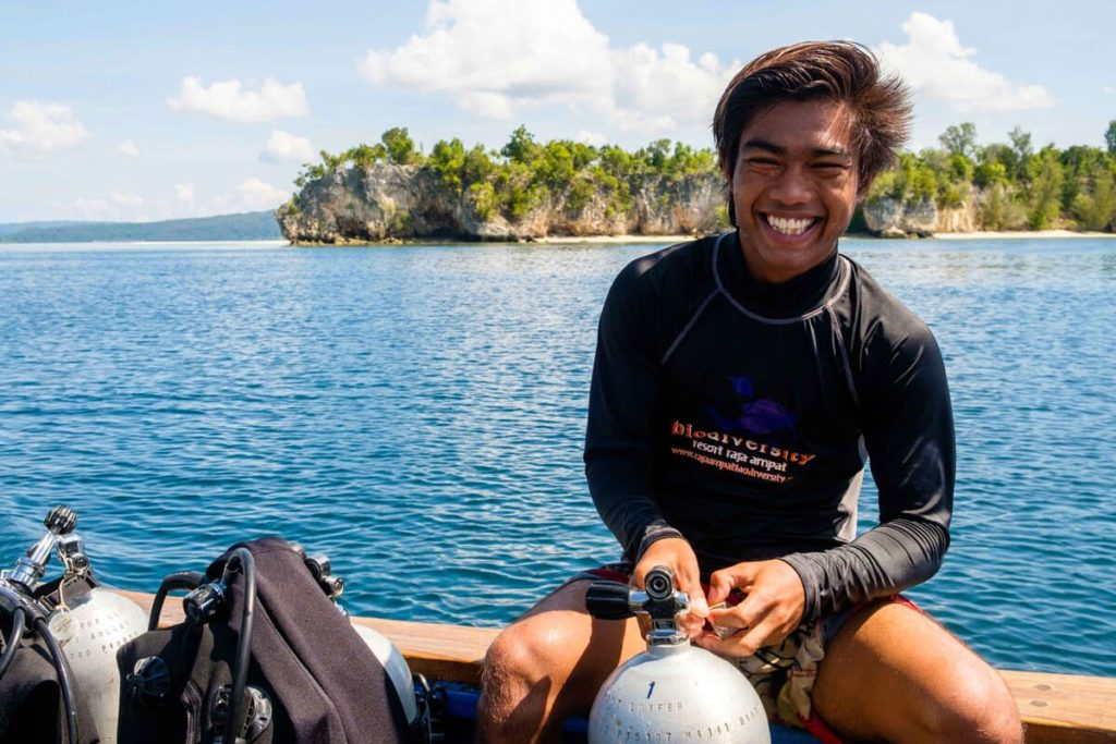raja ampat activities islandhoping 7