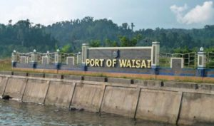 how to get to raja ampat port of waisai