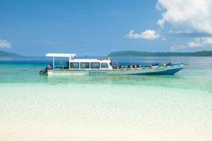 Alojamientos en Raja Ampat - el bote