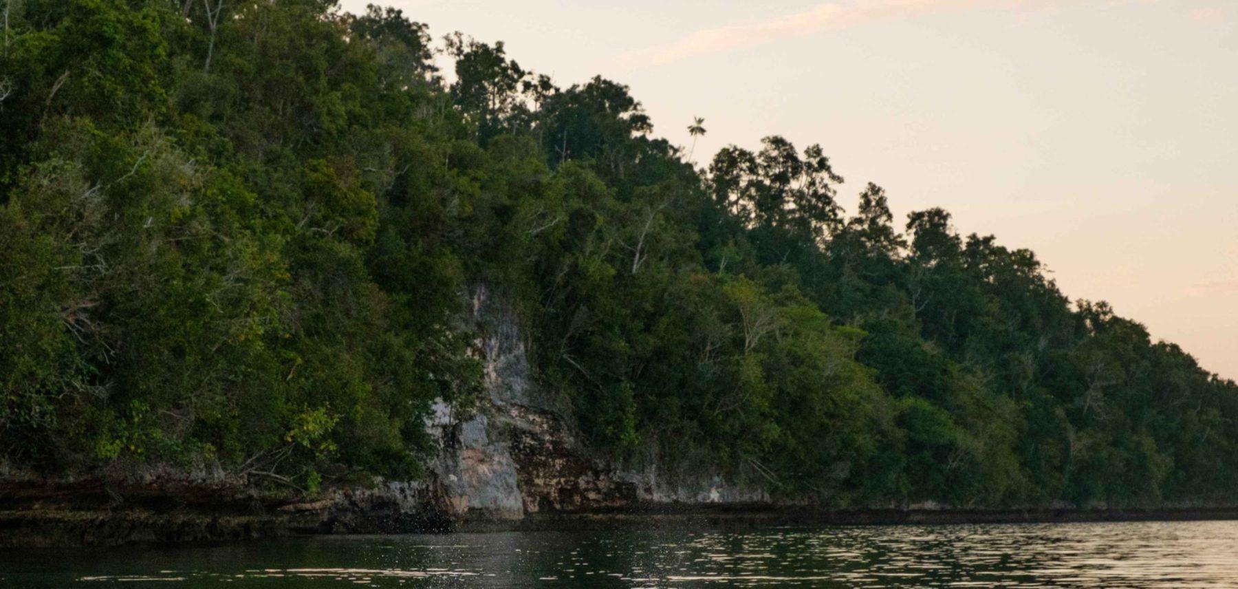 isla misool paisaje