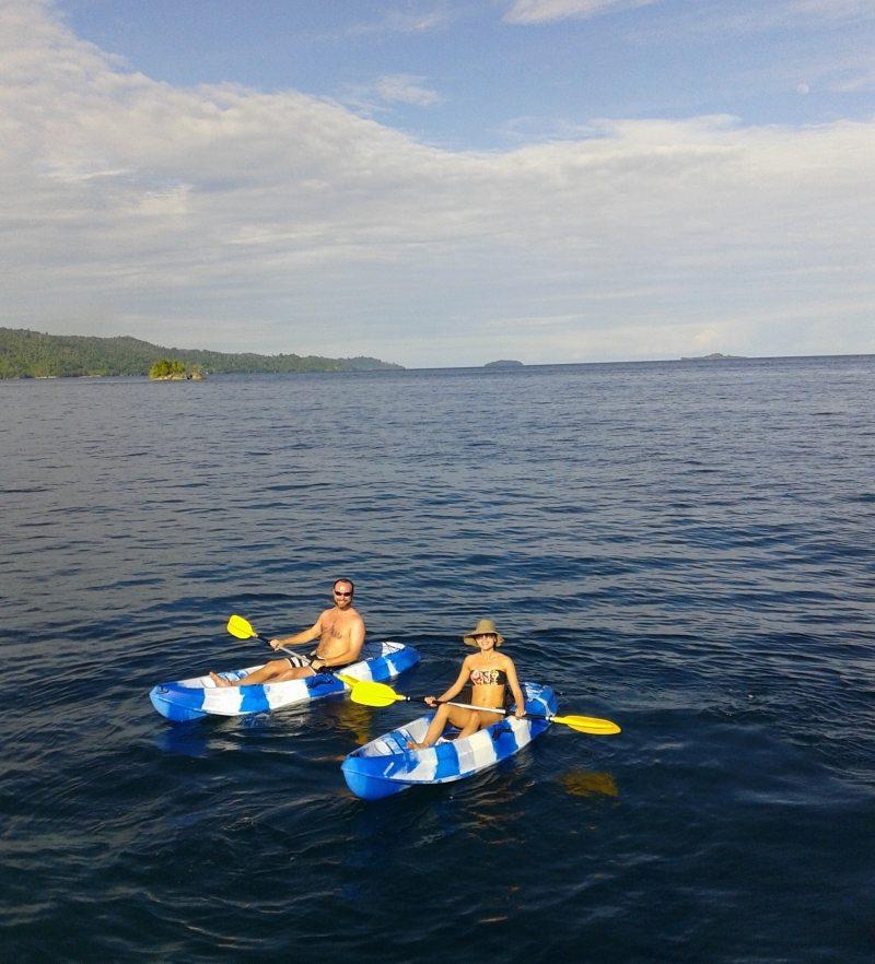 Actividades de Raja Ampat - kayac