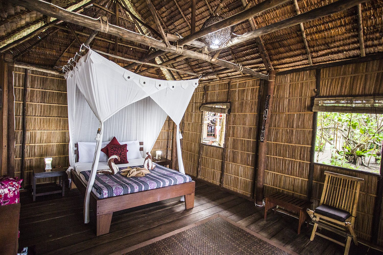 Raja Ampat Unterkunft Superior Hütte