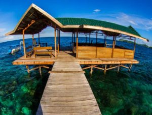 raja ampat resort jetty