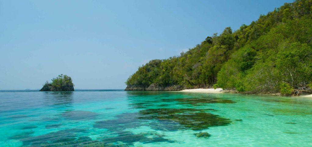 Stand Insel Salawati - Raja Ampat Archipel