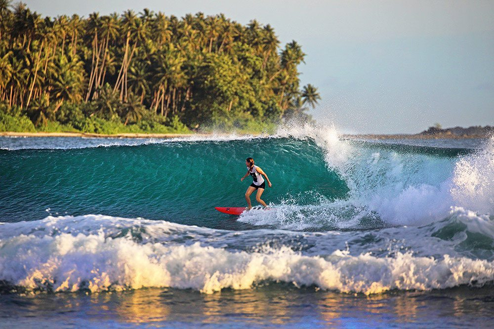 Indonesian Islands surf