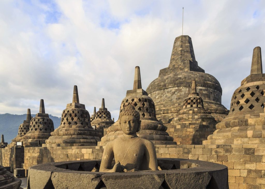 Indonesian Islands temple