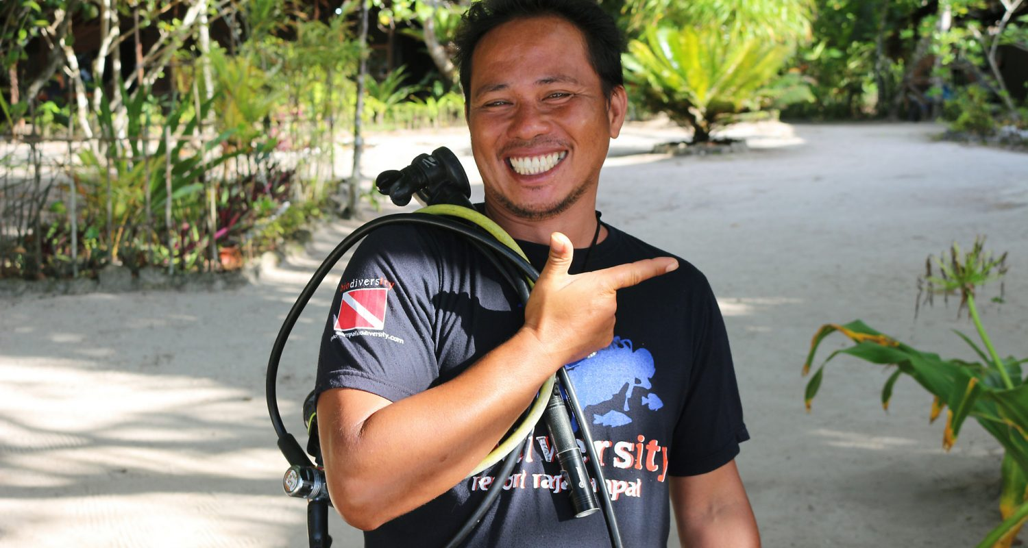 Edmon has been with Biodiversity since June 2017 and has been in the diving industry for more than 10 years. He has enthusiasm for diving activities and can be very charming. His specialty is Macro Life and he has a passion for diving which shows in the professional manner in which he takes care of our divers.